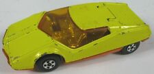 VTG Original 1973 Matchbox Superfast No 33 Datsun 126X Yellow