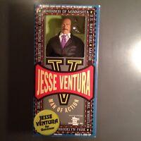 JESSE VENTURA DOLL NAVY GOVERNOR WRESTLER ACTION FIGURE NEW- NRFB MINNESOTA WWE