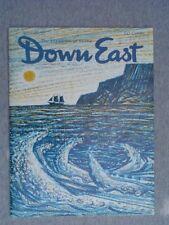 DOWN EAST Maine mag. APR 1966  Acadian Country in Aroostook   FITZ HUGH LANE Art