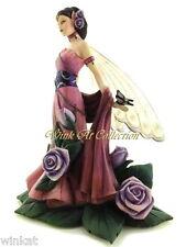"Jessica Galbreth ""Lavender Rose"" Fairy Figurine 2005 Limited Edition # 0910"