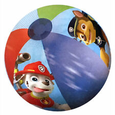 """6 PAW PATROL INFLATABLE 20"""" POOL BEACH BALLS TOY BIRTHDAY PARTY FAVOR PRIZES 3+"""
