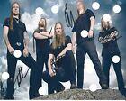ARMON AMARTH SIGNED FULL BAND REPRINT PHOTO Berserker Jomsviking CD LP