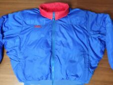 Vintage 90's Columbia Mens Large Reversible Down Puffer Ski Jacket Blue/Red