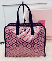 NWT Kate Spade Morley Silver/Pink Large Tote Bag Weekender Bag, Back To School,