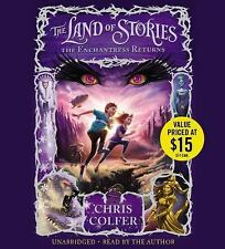 The Land of Stories: The Enchantress Returns Bk. 2 by Chris Colfer (2014, CD,...