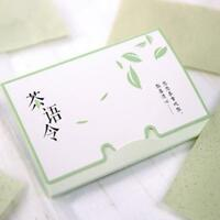 Paper Oil Face Absorbing Green Tea Blotting Facial Sheets Tissue Control Makeup