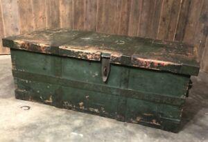 Vintage Wooden Tool Box/Storage chest, blanket box, toy chest, book storage