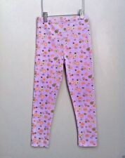 U.S.A Baby Lulu Boutique 6 6X Brittany Purple Floral Cotton Knit Soft Leggings