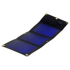 Flexible solar panel 5W Portable travel charger USB 1.1A Waterproof PowerNeed