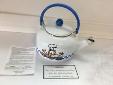 Retro Garfield the Cat Chef 2 Quart Tea Pot Nib