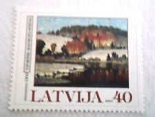 2001 Latvia When Silava's Forest Wakes u/m Mi.514. G2