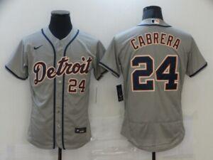 Men's Detroit Tigers Miguel Cabrera #24 Player Jersey