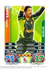 2015 Topps Cricket Attax ICC World Cup #089 Junaid Khan - Pakistan