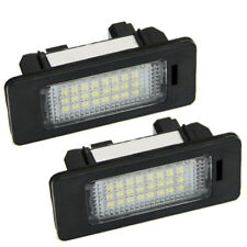 2pcs Error Free LED License Number Plate Light For BMW E46 E60 E61 E90 5 Series