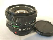 Canon 50mm FD 1:2 Lens for 35mm Canon cameras-Used