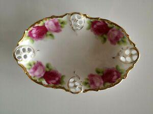 Rosenthal Moliere Bavaria - Cäcilie - kleine ovale Schale - Jugendstil um 1900