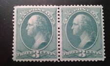 US #207 MNH pair e198.5078