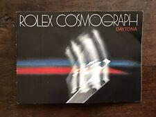 Libretto Rolex Cosmograph Daytona-Anno 1982-Ref.6263/6265-Lingua Inglese. Raro!