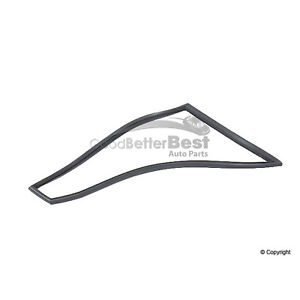 One New OE Supplier Vent Glass Seal 91179954285 for Porsche 911