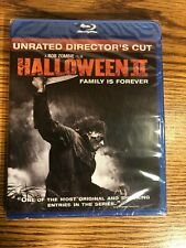 Halloween II Blu-Ray Michael Myers Rob Zombie Unrated Director's Cut Horror NEW