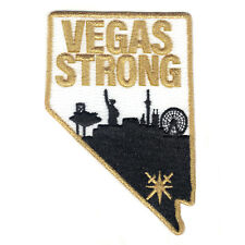 "Las Vegas STRONG PATCH 4"" Knights Hockey JERSEY Inaugural METALLIC Patch!"