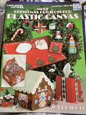 More Christmas Projects for Plastic Canvas Leisure Arts 194 20 Projects