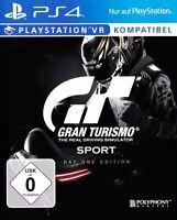 PS4 / Sony Playstation 4 - Gran Turismo Sport #Day One Edition DE/EN mit OVP