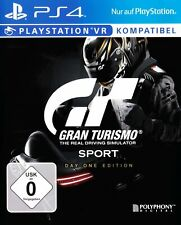 PS4 / Sony Playstation 4 - Gran Turismo Sport #Day One Edition DE/EN mit OVP