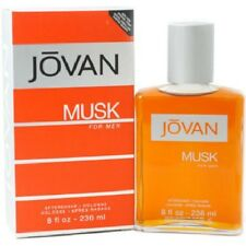 Jovan Musk by Jovan 8 oz Aftershave for Men New In Box