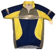 Vintage Santini 1/4 Zip Cycling Jersey XXL Made in Italy Men's 2XL -FITS TIGHT