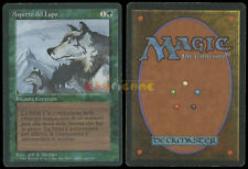 MTG Magic Aspetto del Lupo (Aspect of Wolf) 1ª Ed. Ita Revised Bordo Nero ○ 1994
