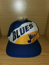 Vintage St Louis Blues Snapback Hat Cap Hockey Nhl Logo 7 Sports Vtg Nwt