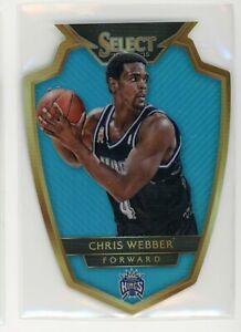 2014-15 Chris Webber 11/199 Panini Select Die-Cut Blue