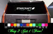 "Starcraft 24"" Vinyl Sticker Decal car truck window Pick color! boat + free"