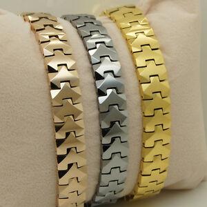 10MM men/women supper shiny & heavy hi-tech scratch proof tungsten bracelet