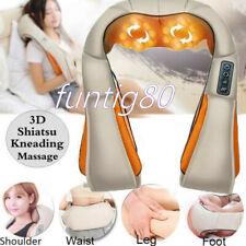 Electric Neck, Shoulder, Back, Foot Massager Shiatsu Massaging Kneading Shawl