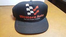 Vintage Western Auto Supply Co Mesh Trucker  SnapBack Hat Cap Foam
