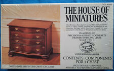 """Antiquitäten"" in 1:12:House of Miniatures Kit 40050:Chippendale Serpentin Chest"