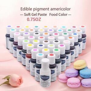 21g AmeriColor Food Coloring Soft Gel Paste Food Color New
