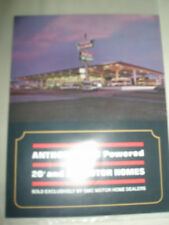 Anthony GMC Powered 20' and 24' Motor Homes brochure c1980
