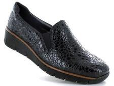 Chaussures plates et ballerines grises en cuir pour femme