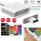 5/3/1X 2.4A Magnetic Micro USB Charging Cable Adapter Charge For Android Samsung