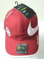 Nike Featherlight Aerobill Oklahoma Sooners Big Swoosh Mens Hat Crimson Red