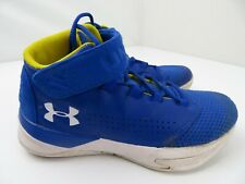 Under Armour Get B Zee Basketball Shoes Boys Size 5y Blue 1299028-400