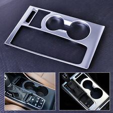 Interior Water Cup Holder Matt  Front Cover Panel Decor Trim for Hyundai Tucson