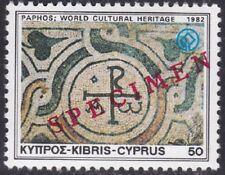 Specimen, Cyprus Sc581 World Cultural Heritage, Mosaic Chrismon