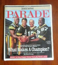 """Green Bay Packers """"What Makes A Champion?"""" 1997 Milwaukee Journal Sentinel"""