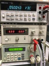Hp Agilent E3614a 8v 6a 100 240v Dc Power Supply Used Tested Ships Free