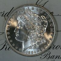 * 1884-O * CHOICE to GEM BU MS MORGAN SILVER DOLLAR * FRESH FROM ORIGINAL ROLL *