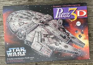 Star Wars Millennium Falcon Puzz 3D Fully Dimensional Foam Jigsaw Puzzle TOUGH